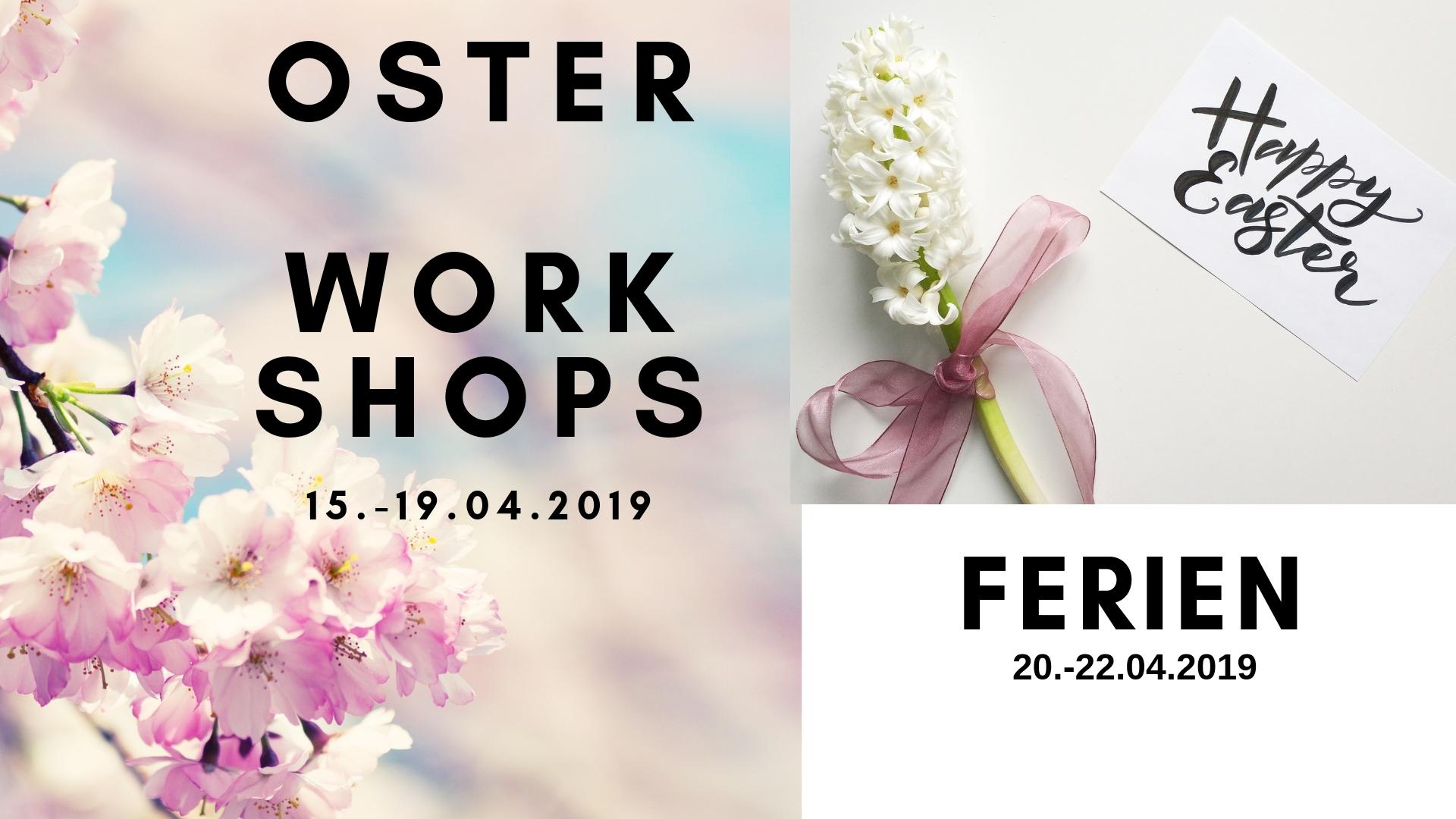 Workshops und Specials im April 2019 in Wien