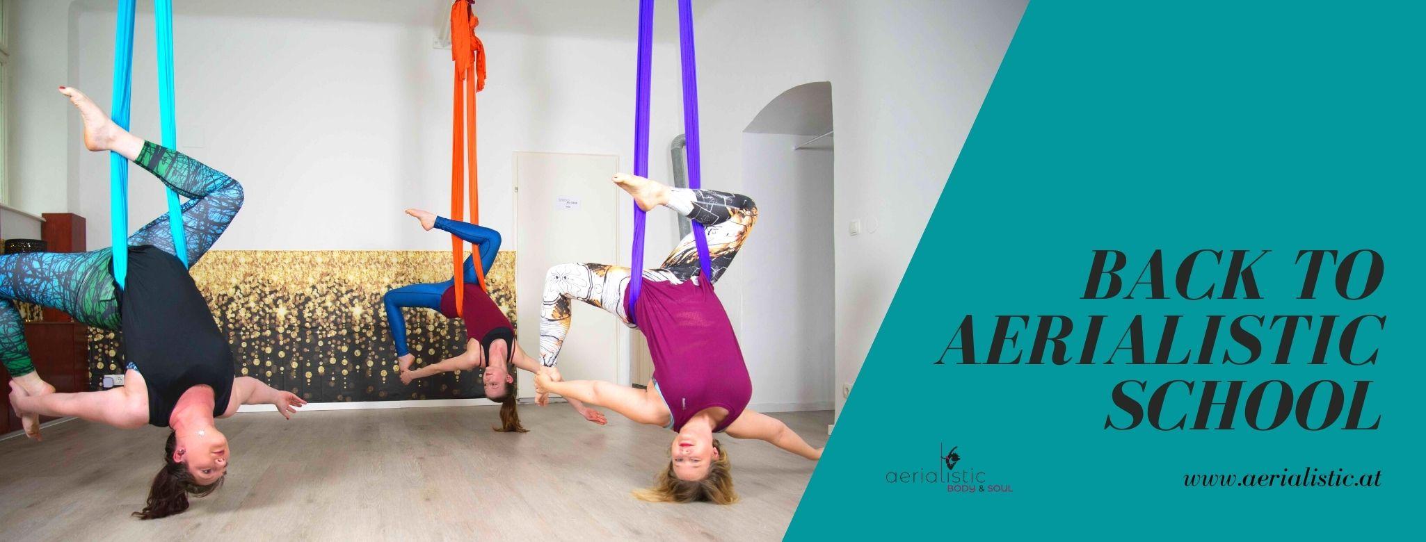 Aerialistic Body & Soul ist der richtige Ort für dich, um endlich tanzen zu können. Probiere dich in Aerial Hammock